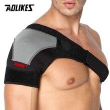AOLIKES 1 шт. поддержка спины Регулируемый бинт протектор усиленный функциональный-Тренировка-оборудование Один плечевой ремень