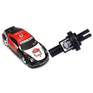 Wltoys 1pcs K969 1/28 2.4G 4WD Brushed RC Car High Speed Drift Car Toy, EU Plug & 1pcs Adjustable Ball Differential