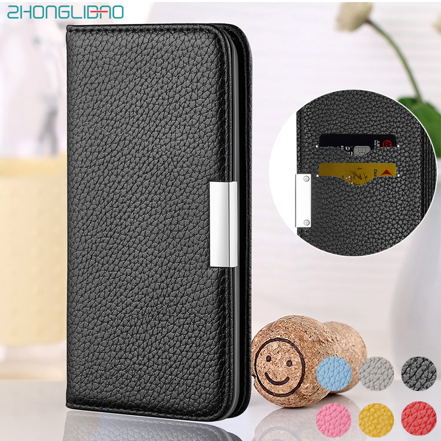Litchi Leather Magnetic Flip Wallet Case for Xiaomi K20 Mi 9t Pro A2Lite Xiami Redmi 6A 7A Note 7 6 Pro Phone Cover Xiomi K20Pro image