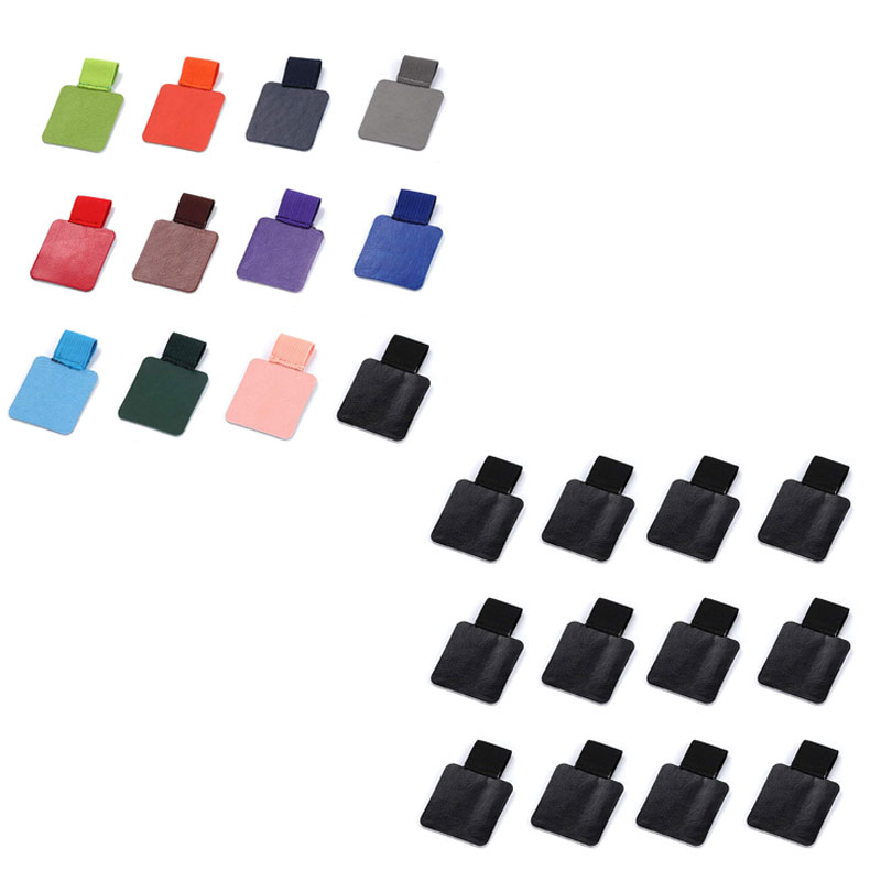 12 Pack Pen Loop Holder, Self-Adhesive Pen Holder Pencil Elastic Loop for Notebooks, Journals, Calendars