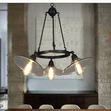 Ретро светильник для ресторана винтажные стеклянные светильники
