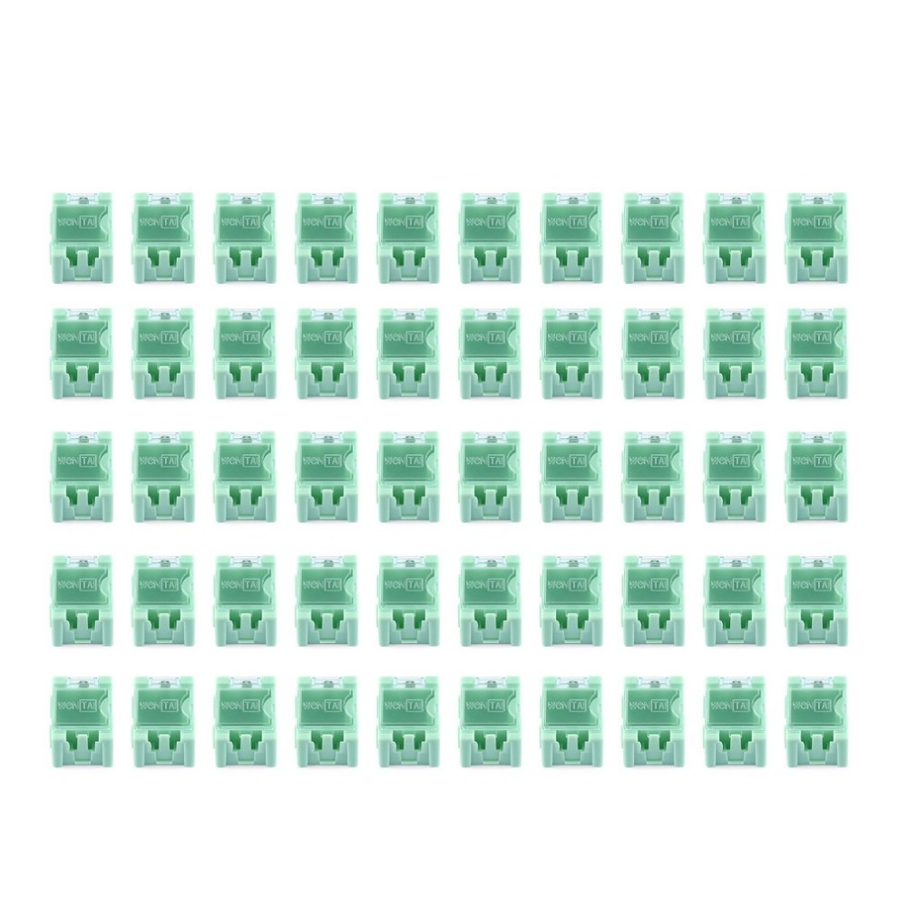 50pcs Small Tool Screw Object Electronic Component Storage Box Laboratory Case SMT SMD Automatically Pops Up Patch Container