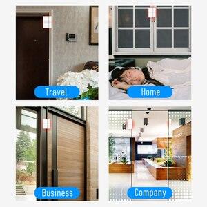 Image 4 - チュウヤスマート無線 Lan ドアセンサー 433mhz ワイヤレスアプリ制御ドア窓セキュリティ警報オープニングドアセンサー互換 Alexa/ IFTTT