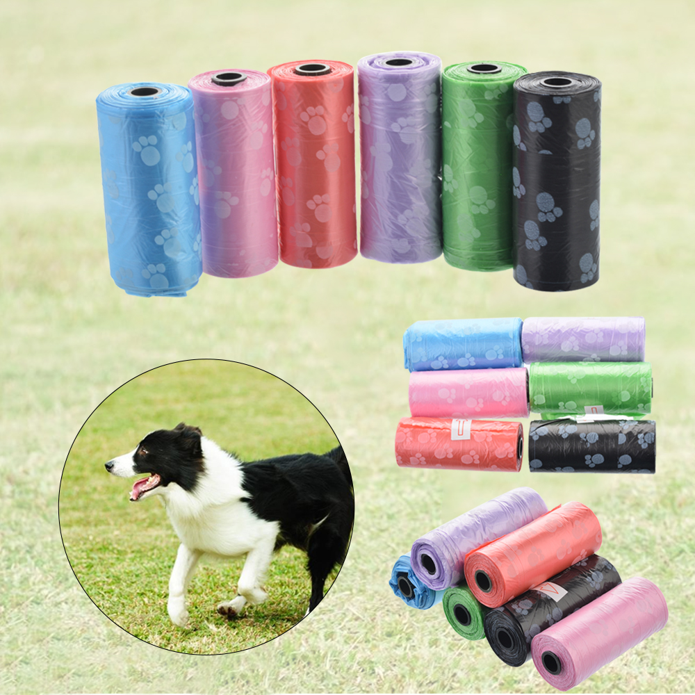 Rolls Degradable Pet Dog Waste Poop Bag