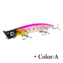 1pcs/ The New Sea fishing Fishing Bionic  bait 11cm/13g Artificial lure plastic 3D eyes Rotate Bass accessories