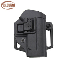 Hunting Tactical Holster for PPK Airsoft Paintball Gun Concealed Quick Carry Right Hand Belt Loop Pistol Bag Case