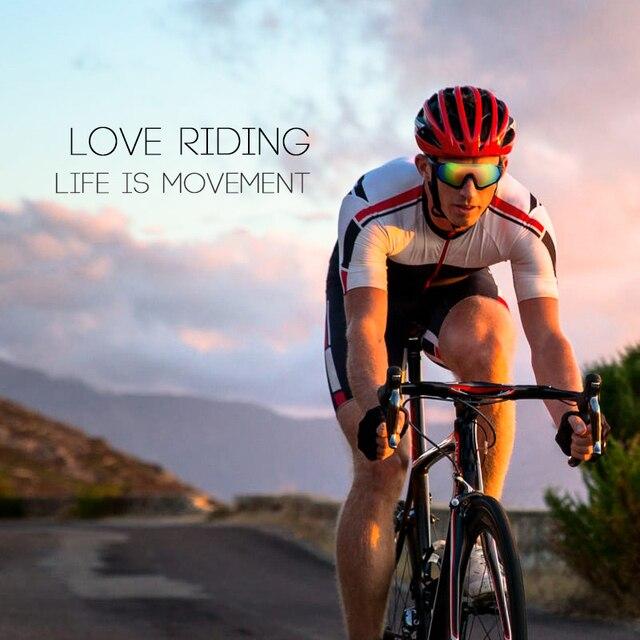 Roidismtor ciclismo eyewear bicicleta óculos de sol dos esportes dos homens mtb ciclismo estrada óculos de proteção à prova vento 5