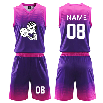 2020 nowych mężczyzna uniwersyteckie koszulki koszykarskie strój do koszykówki dla dzieci jednolite College kobiety tanie koszykówka T Shirt zestaw szortów zestawy sportowe tanie i dobre opinie NoEnName_Null POLIESTER bez rękawów Szybkoschnące oddychająca Dobrze pasuje do rozmiaru wybierz swój normalny rozmiar
