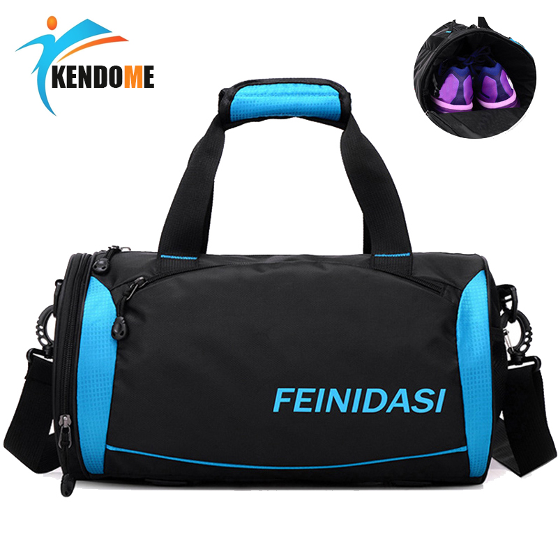 Hot High Quality Men Gym Bags For Training Waterproof Basketball Fitness Outdoor Sports Bag With Independent Shoes Storage