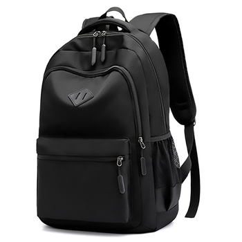 Solid Color Backpack Fashion Men Women Backpack High Capacity Schoolbags For Teenager Girls Boys Male Shoulder Bags 1