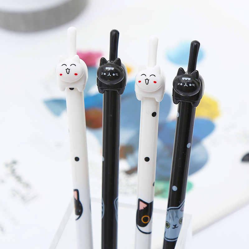 한국어 카와이 플라밍고 젤 펜 유니콘 비 고양이 발 고래 야채 귀여운 카와이 편지지 학교 재료 키트 액세서리 키트