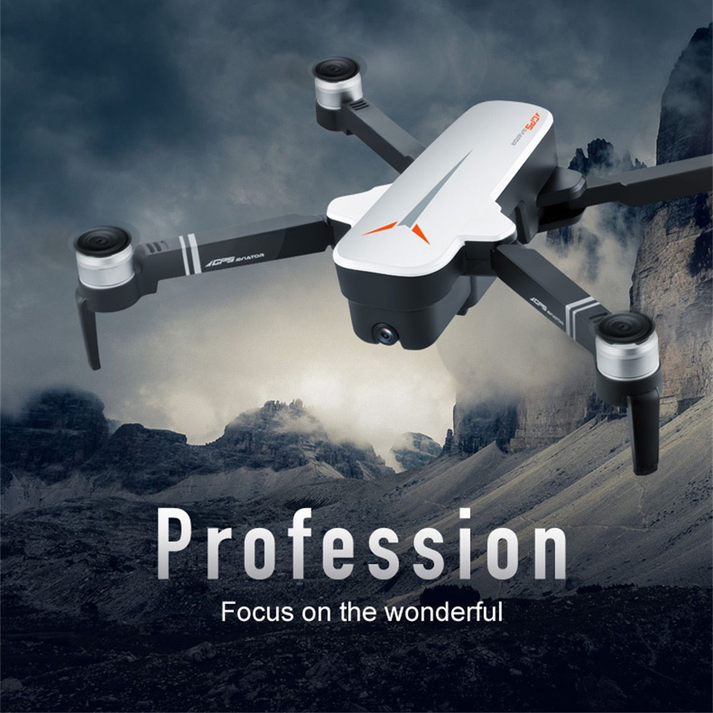 Drone X9 Drone 4k Hd Gps Drone Wifi Fpv Quadcopter Brushless Motor Servo Smart Camera Return Drone With Camera Samolot Piankowy
