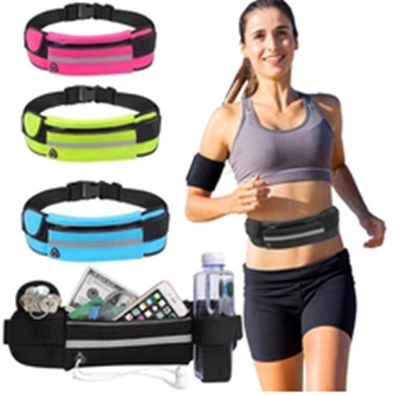 Unisex Waist Bags Running Waist Bag Sport Running Bags For Women 2020 Cycling Phone Bag Waterproof Holder Men Jogging Belt Pack