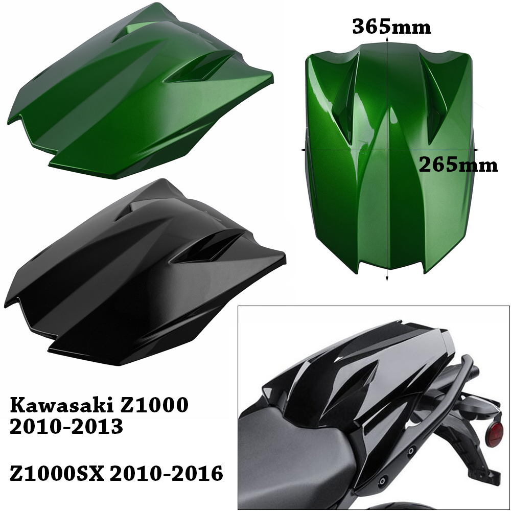For Kawasaki Z1000 Z1000SX 2010 2011 2012 2013 2014 2015 2016 Motorcycle Rear Pillion Passenger Cowl Seat Cover Fairing Part