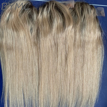 Toupee Hair-Pieces Topper Loss-Hair Women Natural for Ombre-Color with Clip-In Remy 8-20-Inches