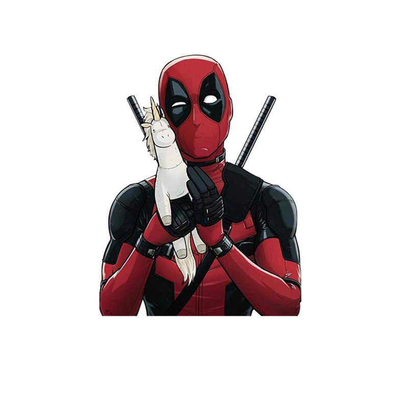 1pcs Deadpool Figura Personaggio di Superman Icona FAI DA TE Trasferimento di Calore di Ferro Su T-Shirt FAI DA TE Sticker Batman Termico Sensibile Patch di Stampa