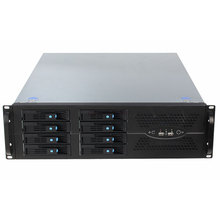 19 Inch 3U Rack-Mount Server Storage Case TOP3U570-08 Hot-Geruild Chassis 8HDD Bays Voor Big Data Ondersteuning atx Moederbord