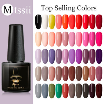 Mtssii Top Selling Colors Gel Polish Hybrid Varnishes All For Nail Manicure Semi Permanent For Nails UV Gel Nail Polish Vernis