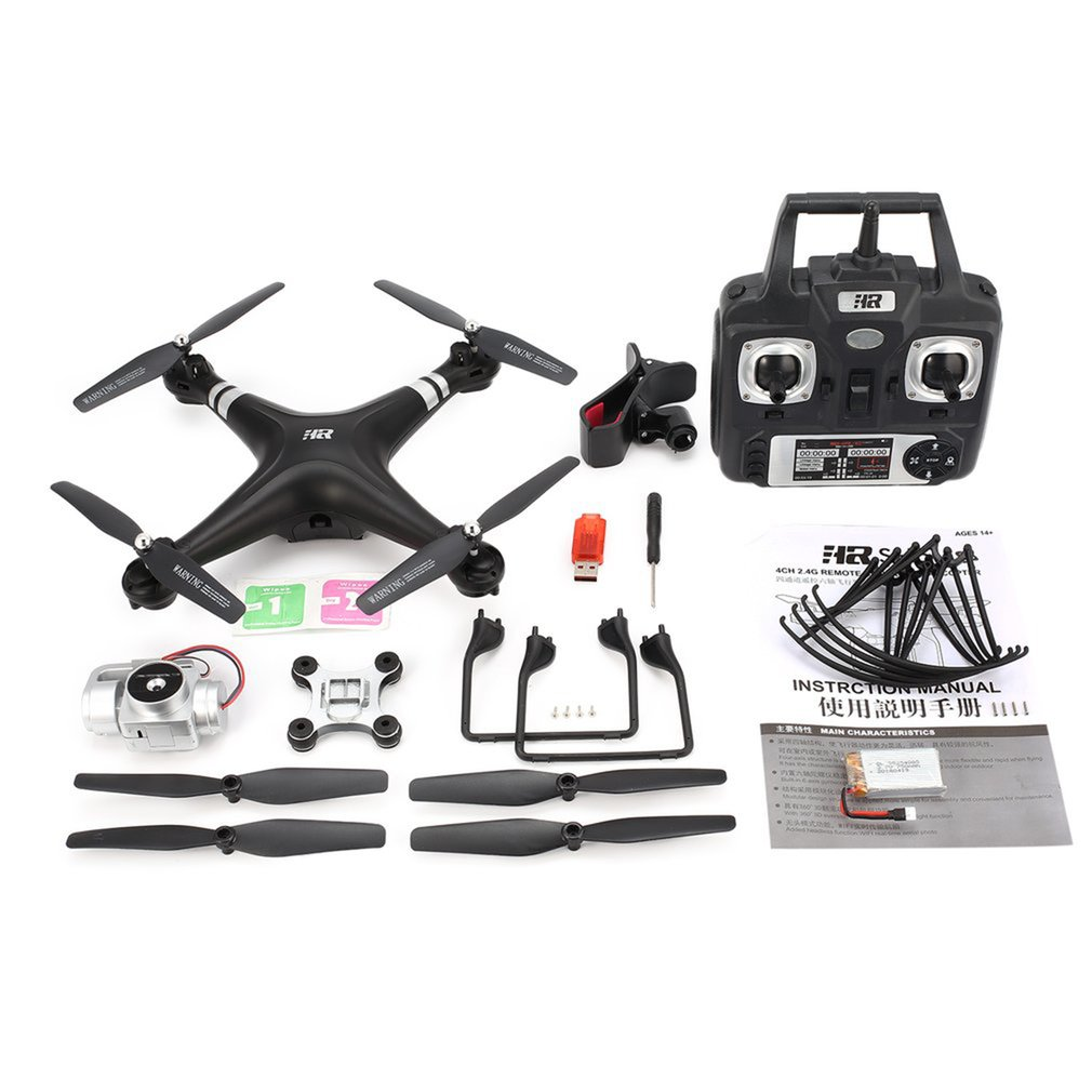 SH5HD 2 4G FPV Drone RC Quadcopter with 720P Adjustable Wifi Camera Live Video Altitude Hold Headless Mode One Key Return