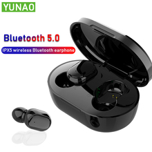 YUNAO MX1 Wireless Bluetooth Earphones Binaural call earphone box TYPE-C 3.0 charge earbuds waterproof Support Siri