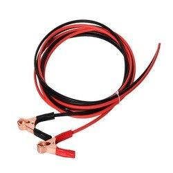 BOGUANG 1 комплект красный/черный Солнечный Кабель с зажимами типа «крокодил» для аккумуляторной батареи 12 В солнечная панель солнечный элемен...