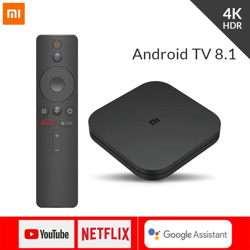 ТВ приставка xiaomi Mi Box S EU Медиаплеер Mi Box S Android 8.1 огромное количество сервисов netfix, google on AliExpress