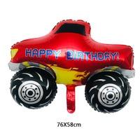 new 50 pcs 76X58 cm Pickup truck toy balloon globos car party children birthday decorations kids balloons wholesale