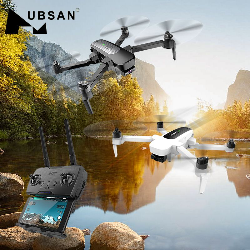 Original Hubsan H117S Zino GPS 5.8G 1KM Foldable Arm FPV With 4K UHD Camera 3-Axis Gimbal RC Drone Quadcopter RTF High Speed