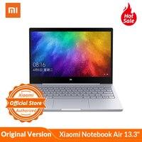Original Xiaomi Mi Notebook Air 13.3 Mi Laptop Fingerprint Recognition i5 7200U Intel Core 8GB DDR4 256GB PCIe SSD Windows 10