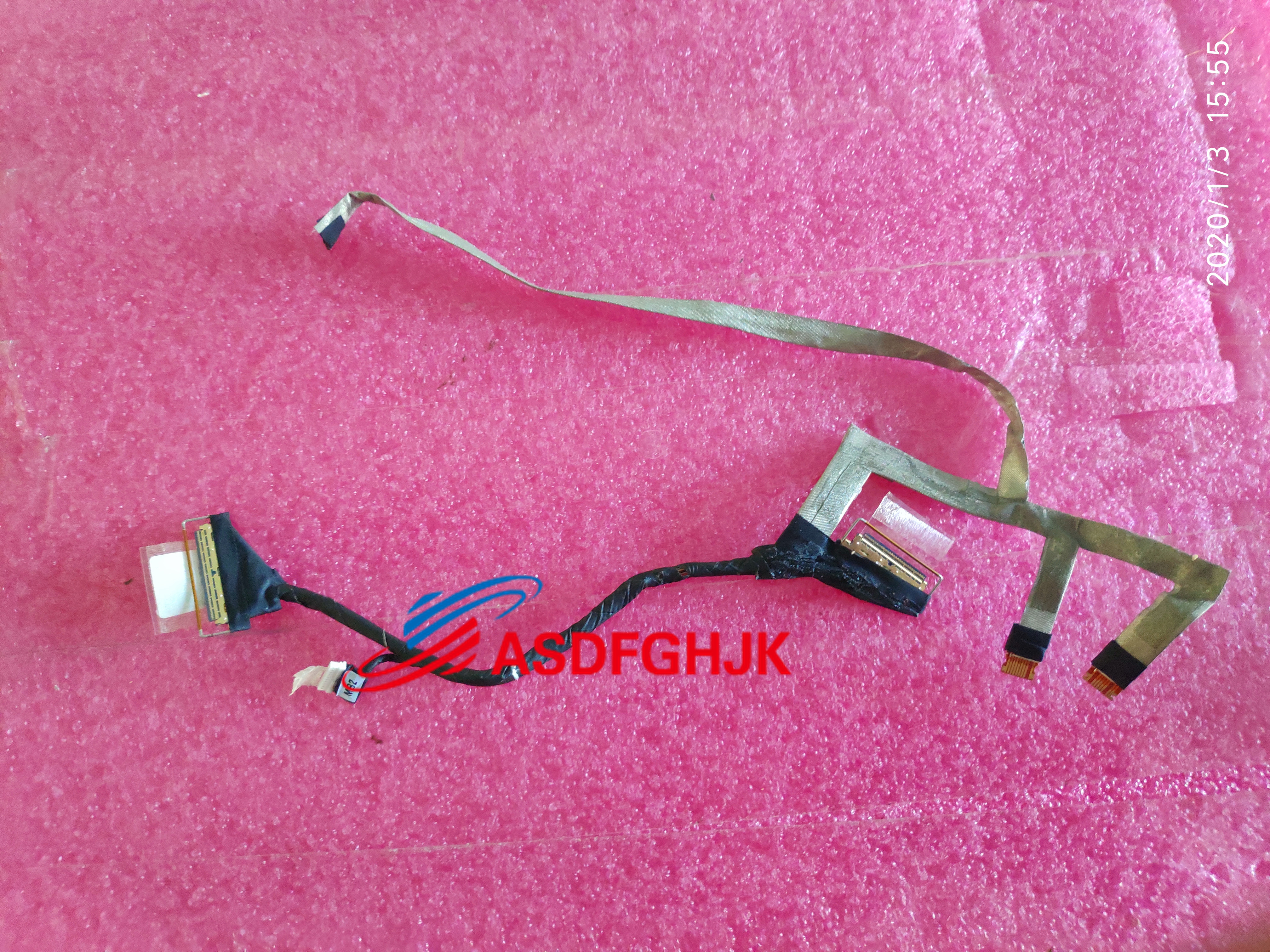 """Dell Inspiron 15.6/"""" 7573 Genuine Laptop DC IN Power Jack w//Cable PF8JG"""