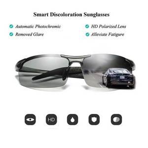 Image 3 - NALOAIN Photochromic משקפי שמש מקוטב עדשת UV400 אלומיניום מגנזיום מסגרת נהיגה משקפי לגברים דיג באיכות גבוהה