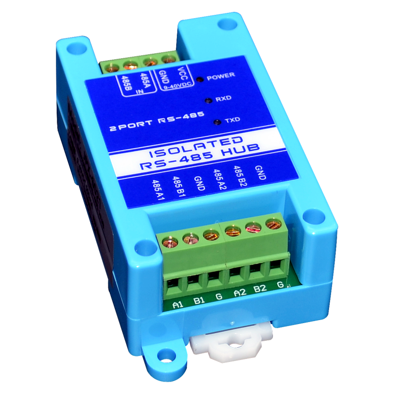 485 Repeater Photoelectric Isolation Industrial Grade RS485 Hub 2-port Signal Amplifier Anti-interference Lightning Protection