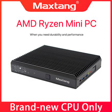 Mini PC Ryzen 5 2500U Desktop computer Windows 10, Gaming PC Dual DDR4 DP USB-C WiFi Bluetooth, 4K Nvme SSD Computer Mini pc