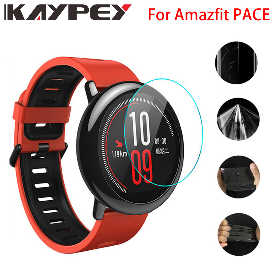 For Amazfit Pace Ultra Thin Antiexplosion TPU Screen Protector Film For Xiaomi Huami Amazfit PACE Full Protective Film