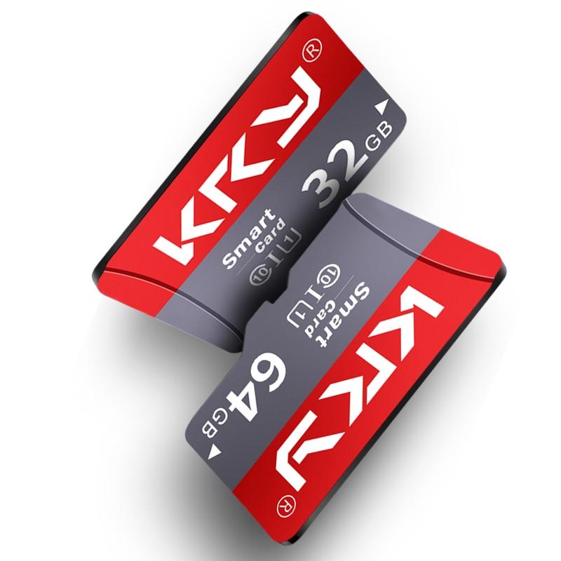 KRY Clase 10 mikro tarjeta sd 32GB 16GB 8GB tarjeta TF tarjeta SD tarjeta de memoria 128GB cartao 64GB de memoria Microsd de 32GB tarjeta de memoria flash