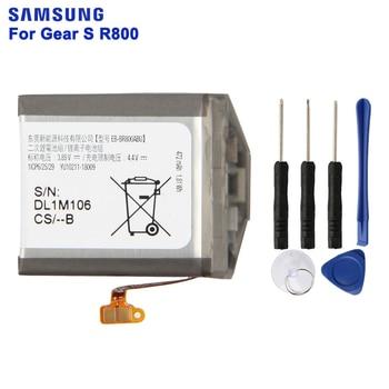 SAMSUNG Original Replacement Battery EB-BR800ABU EB-BR810ABU EB-BR170ABU For Samsung Gear S4 SM-R810 SM-R800 SM-R805 42mm 46mm часы samsung galaxy watch 42mm sm r810 глубокий черный