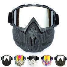 Мужские и женские очки для катания на лыжах, сноуборде, снегоходах, лыжах, анти-УФ, водонепроницаемые очки для мотокросса, солнцезащитные очки A