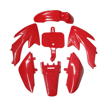 High quality Plastic Red Fairing Body Cover Kits For 50cc 70cc 90cc 110cc 125cc 140cc 150cc 160cc CRF XR CRF50 XR50 Pit bik image