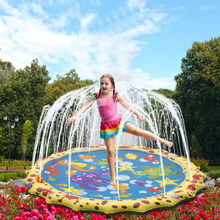 Water-Mat Outdoor Inflatable Play-Game Children Cushion-Toys Coordination Gifts-Supplies