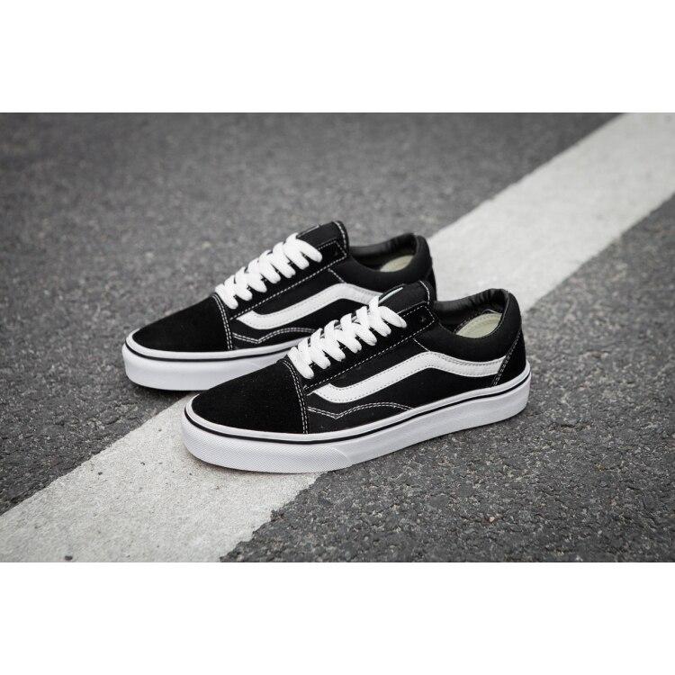 Hombre/mujer zapatos VANS Old Skool deporte Zapatillas de deporte Color negro tamaño Eur 36-44