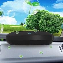 Car Air Purifier Air Ionizer Negative Ion Ozone Ozonizer Remove Dust Pollen Smoke & Bad Odors Ionic Air Freshener air vaporizer цена 2017