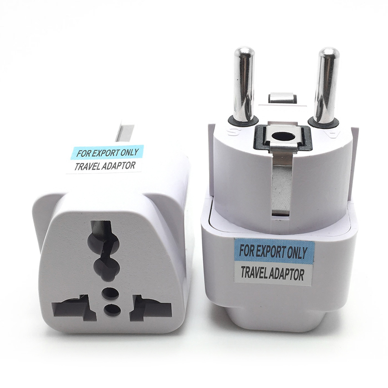 1pcs New AC 250V 10A EU Plug Adapter International AU UK US To EU Euro KR Travel Adapter Electrical Plug Converter Power Socket(China)