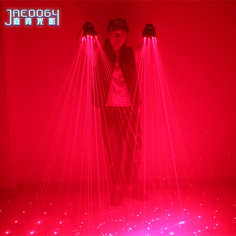 Halloween Lighting New For 2020 2020 new high quality red laser gloves stage dance performance