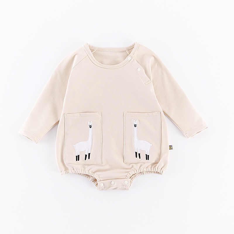 Marke Strampler Set Mode Cartoon Roupas De Bebes Body + Hut + Hose 3 stücke Baby Boy Kleidung Set Nette tier Neugeborenen Baby Kleidung
