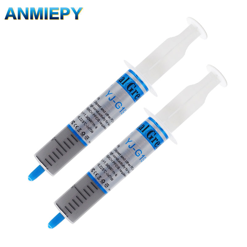 2pcs Thermal Conductive Grease 30g Paste Silicone Heatsink Compound High Performance For DIY LED Chip Cooling Led Radiator