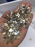 100Pcs Mix Nail Glas Strass Schmuck Flach-back Über 10 Formen Flache Rückseite Bunte Kristall Ab Pferd Auge teardrop Diamant, k5