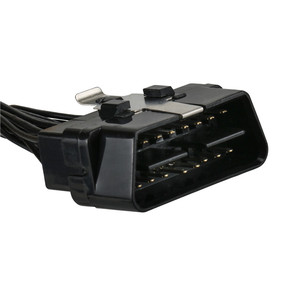 Image 2 - OBD2 II Extension Cable One 16Pin Male Port to Dual 16 Pin Female Port OBD 2 ODB2 Car Diagnostic Connector