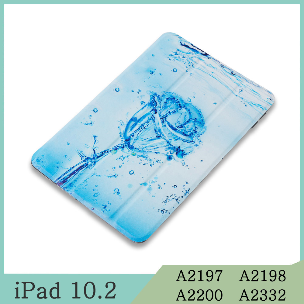 For iPad 10.2 Black Magnetic Case for Apple iPad 7th 10 2 2019 A2197 A2198 A2200 A2232 WI FI PU