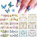 Набор водных наклеек для ногтей LEMOOC, 12 видов