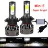 H4 H7 LED 자동차 전구 COB 칩 자동차 헤드 라이트 LED 미니 라이트 자동차 전구 H1 9006 hb4 hb3 9005 H11 자동 램프 H7 LED H4 H11